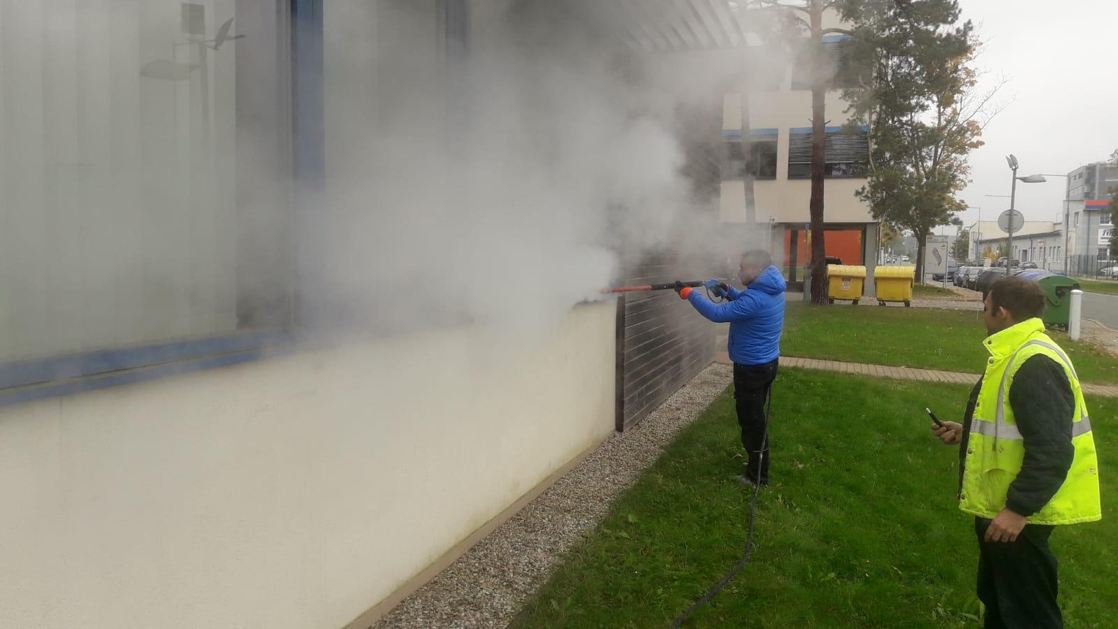 Odstraňování břečťanu ve VTP Plzeň